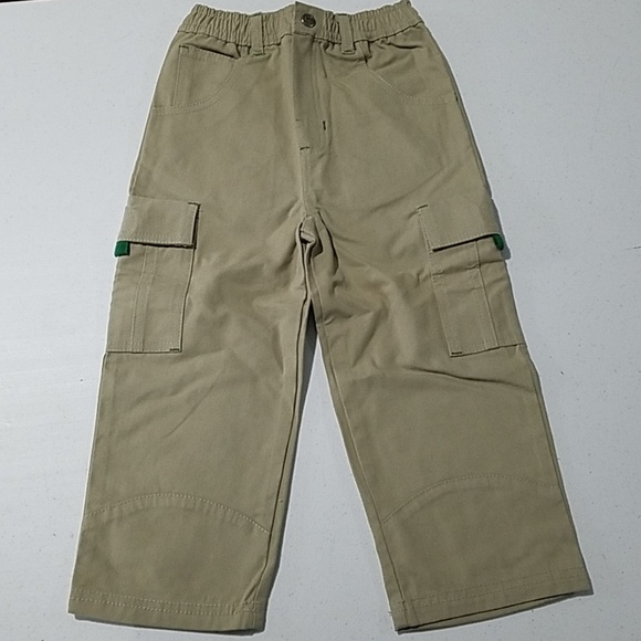 John Deere Other - John Deere tractor boys Khaki pants 3T elastic